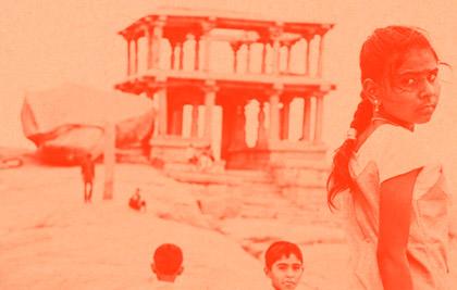 Photographie couradette Ces mots de l'inde - Livre